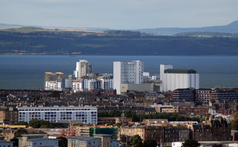 Edinburgh waterfront Scotland royalty free stock photo