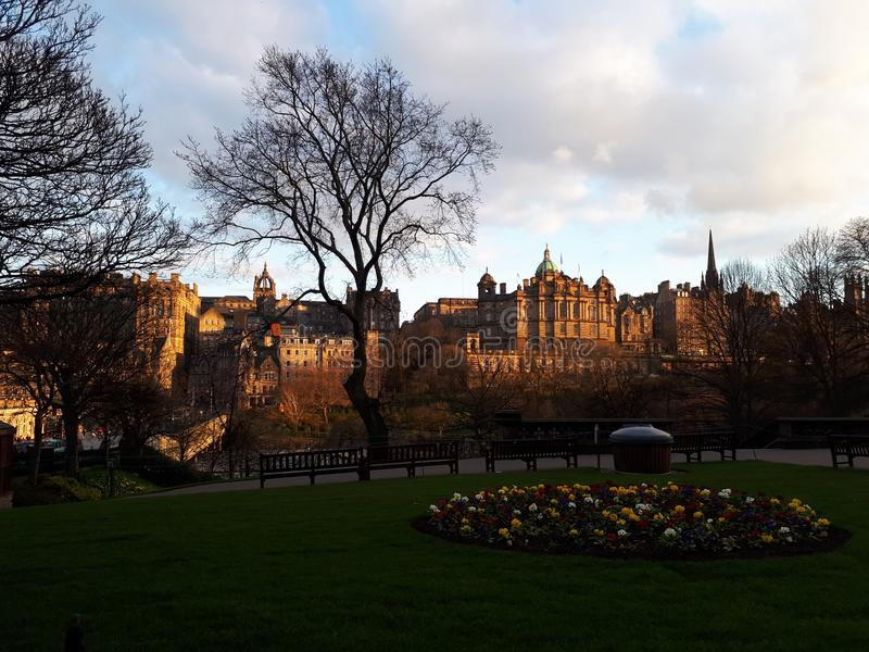 Edinburgstad royaltyfri fotografi