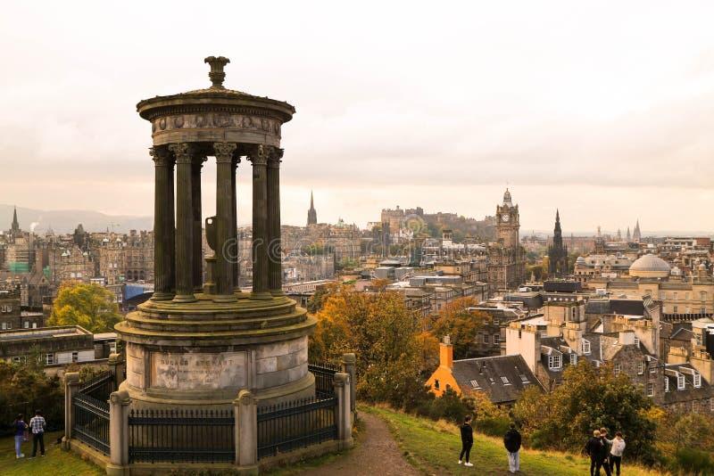 Edinburgstad royaltyfri foto