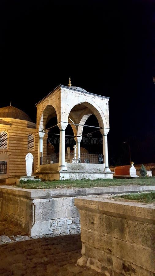 Edirne, Turquía, el 28 de julio de 2017: El complejo de la mezquita de Selimiye en Edirne es una obra maestra del genio creativo  foto de archivo