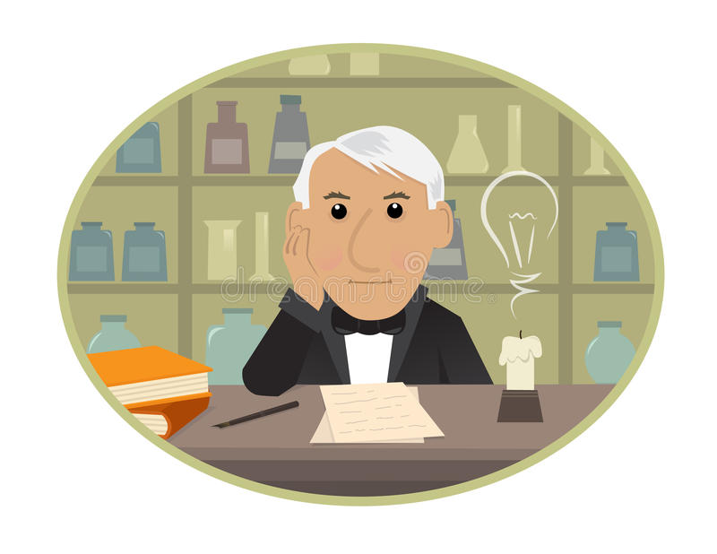 Edison απεικόνιση αποθεμάτων