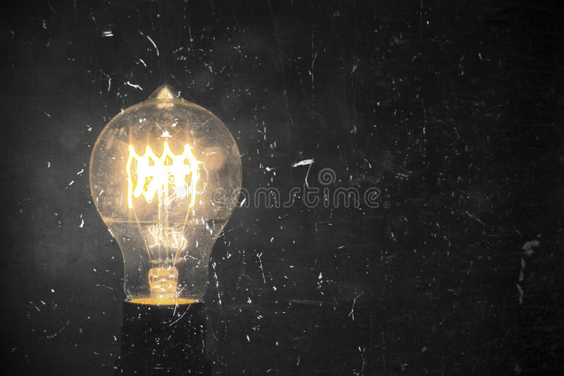 Edison Lightbulb image stock