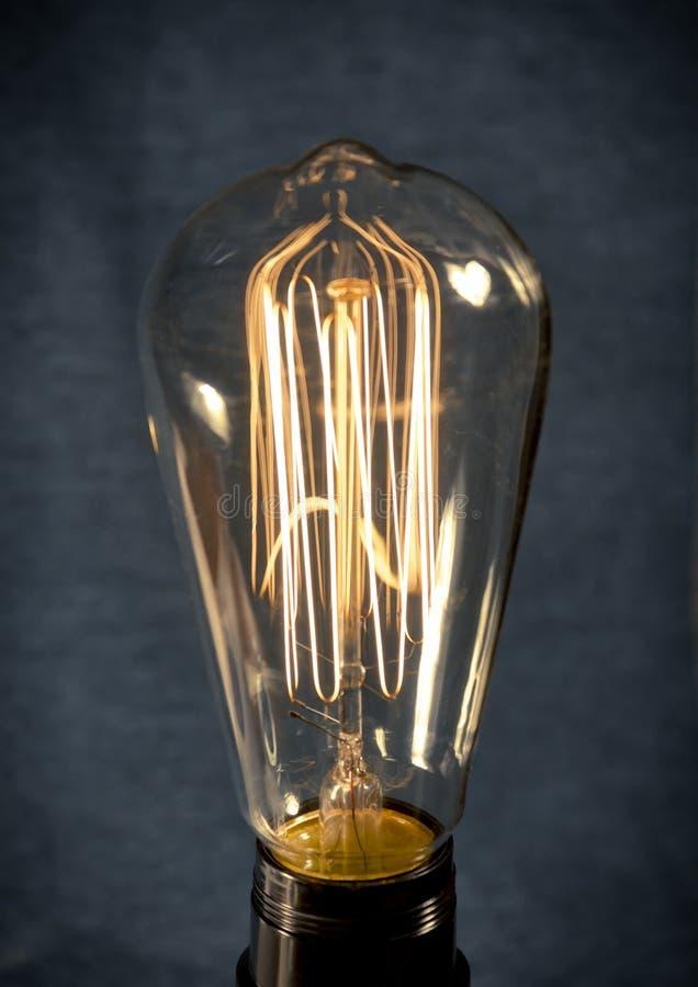 Edison Lightbulb royaltyfri fotografi