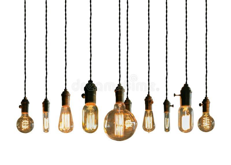 Edison Lightbulbs stock foto