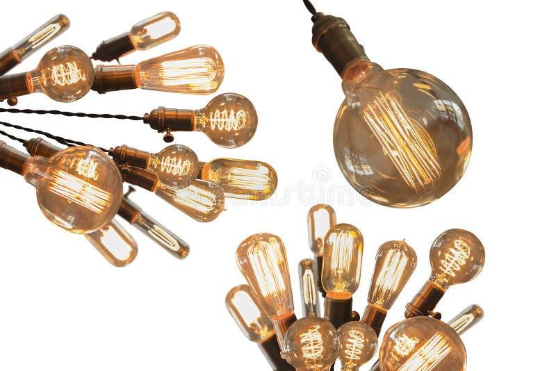 Edison Lightbulbs arkivfoto
