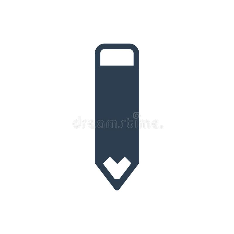 Edit Pencil Icon royalty free illustration