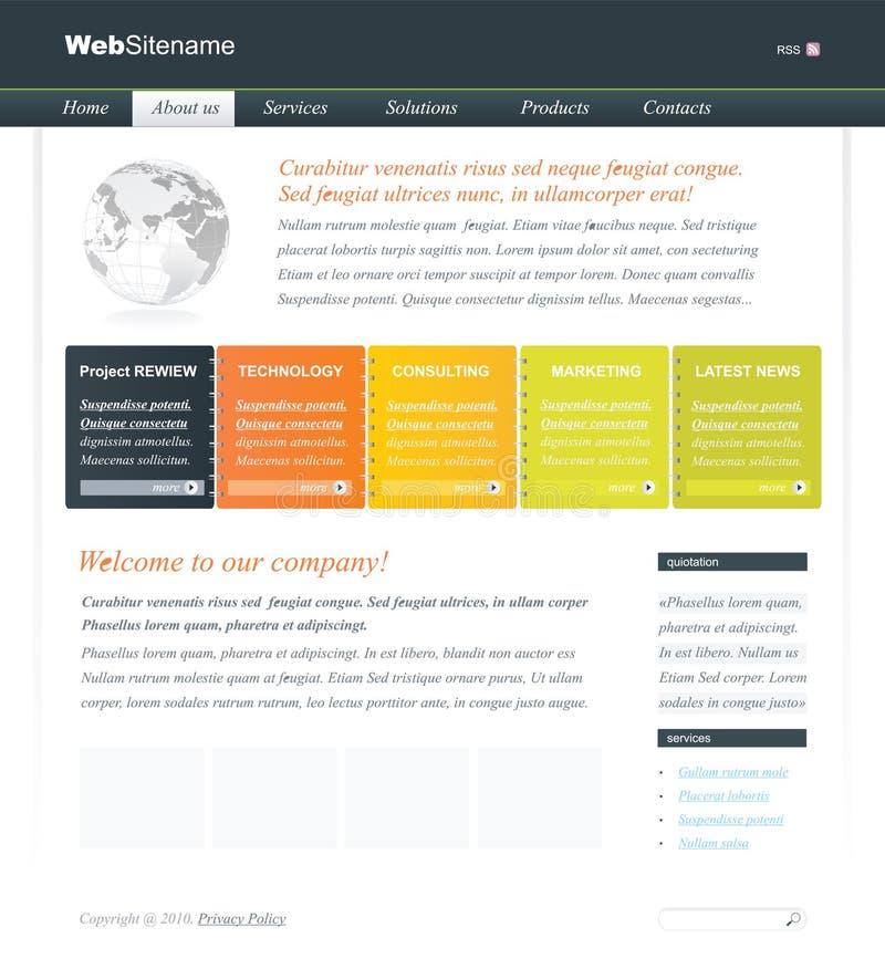 editable сеть шаблона места бесплатная иллюстрация