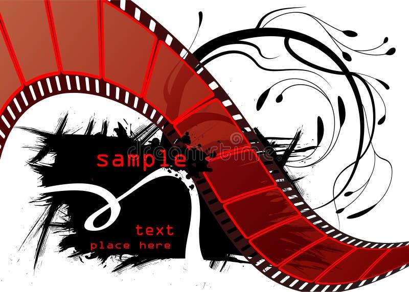 Editable Filmvektor lizenzfreie abbildung