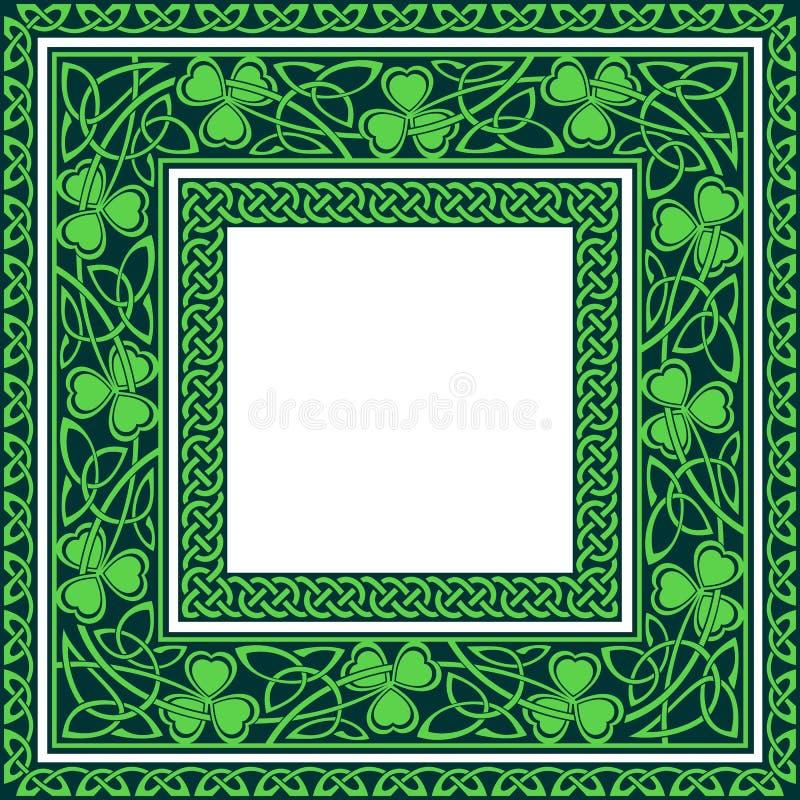 Editable keltische Grenzen vektor abbildung