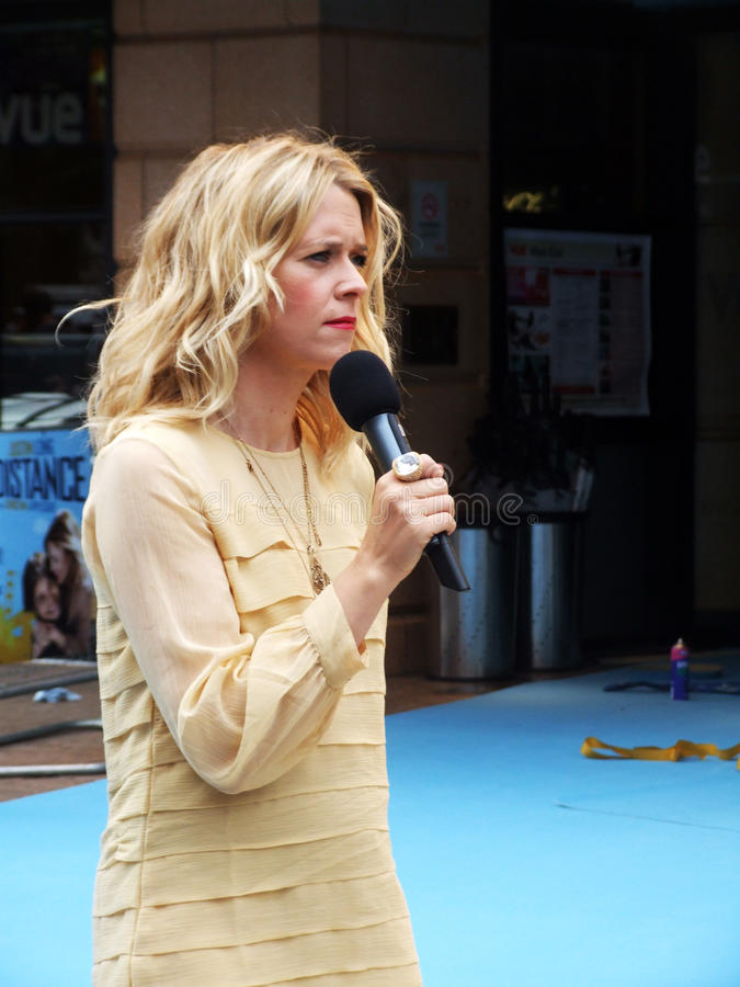 Edith Bowman At Going The Distance Premiere Editorial Photo