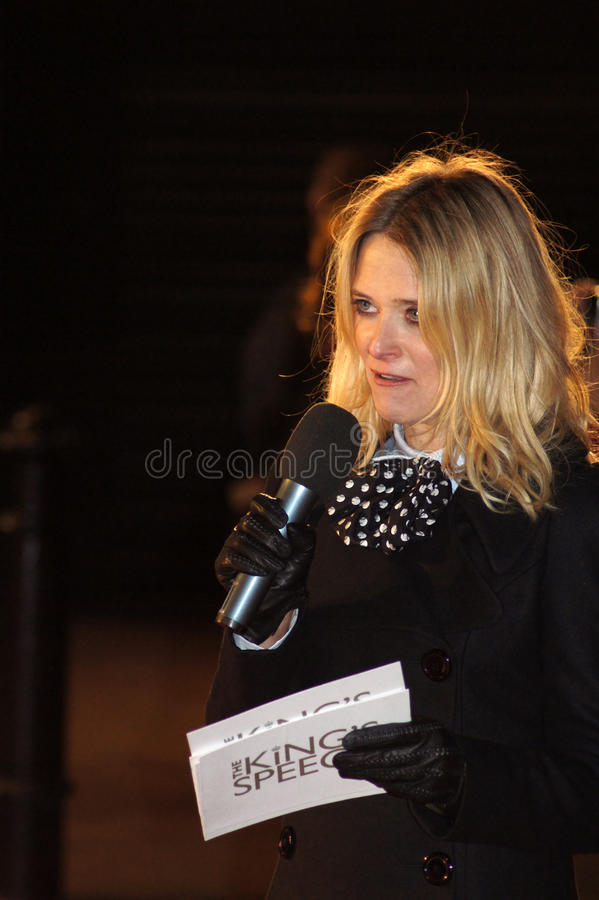 Download Edith Bowman At The King's Speech Editorial Photography - Image: 16746867