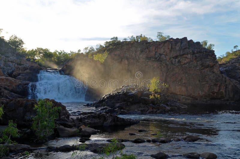 Edith River Upper Pool at Nitmiluk National Park royalty free stock photo