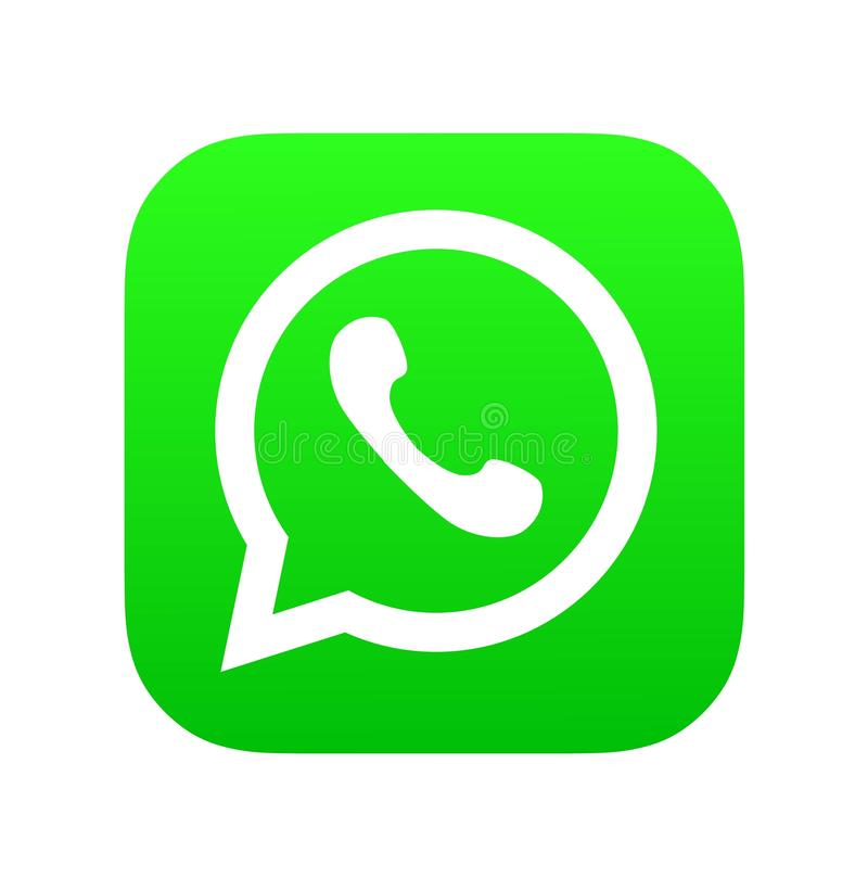 Editorial Animation. Whatsapp Logo Icon. Whatsapp Is The Most ...