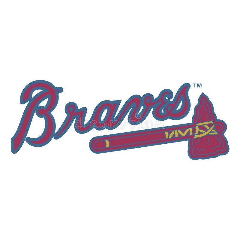 Editorial - Atlanta Braves de MLB ilustração royalty free