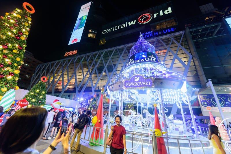 Editorial: Ciudad central de Bangkok del mundo, Tailandia, el 16 de noviembre 2 foto de archivo
