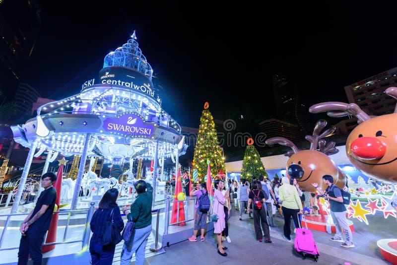 Editorial: Ciudad central de Bangkok del mundo, Tailandia, el 16 de noviembre 2 imagenes de archivo