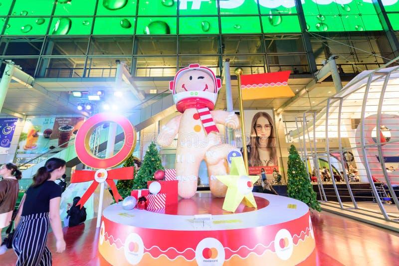 Editorial: Ciudad central de Bangkok del mundo, Tailandia, el 16 de noviembre 2 fotografía de archivo libre de regalías