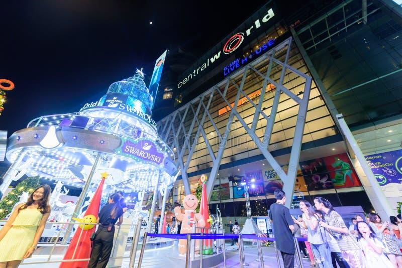 Editorial: Ciudad central de Bangkok del mundo, Tailandia, el 16 de noviembre 2 fotos de archivo libres de regalías
