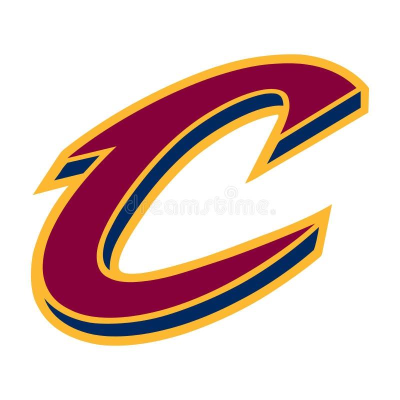 Editorial - Cleveland Cavaliers ilustração royalty free