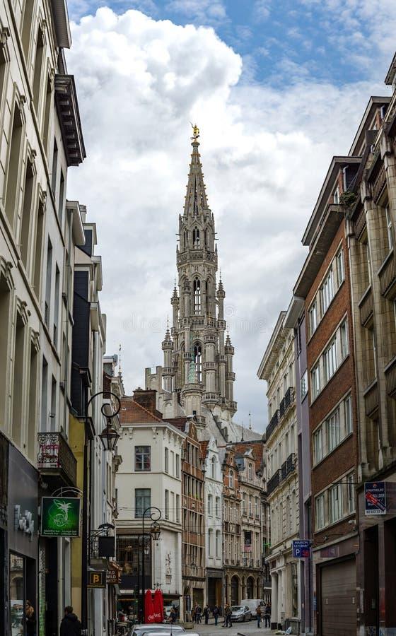Editorial: 16 de abril de 2017: Bruselas, Bélgica P de alta resolución fotografía de archivo