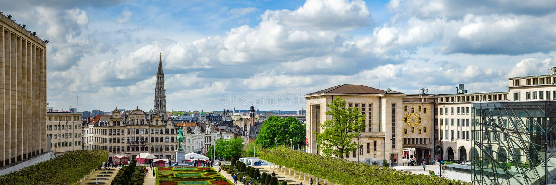 Editorial: 16 de abril de 2017: Bruselas, Bélgica P de alta resolución imagenes de archivo