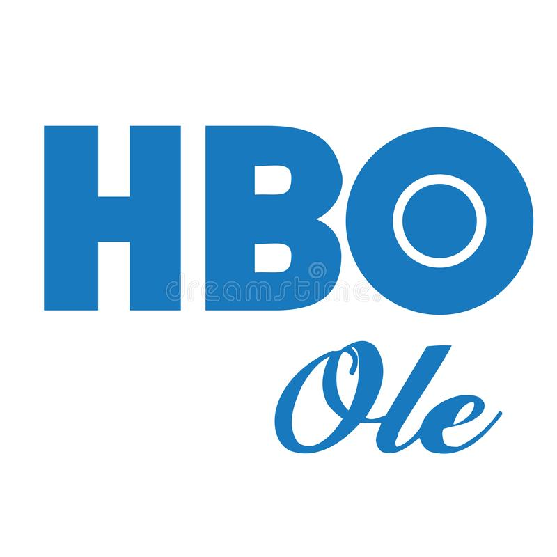Editorial - HBO Ole Home box office logo vector. Home Box Office is an American premium cable and satellite television network that is owned by the namesake unit