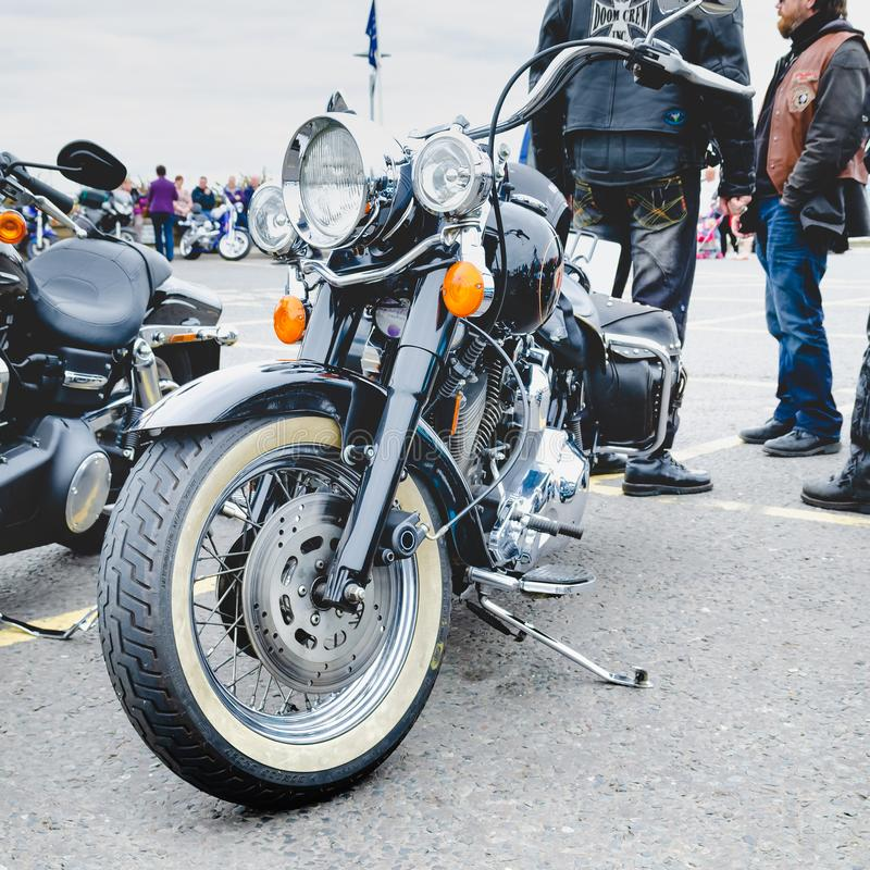 Editorial ilustrativo: Harley-Davidson Motorcycle foto de stock