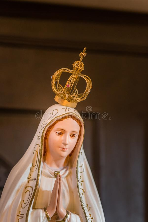 EDITORIAL,  Our Lady of Fatima stock image