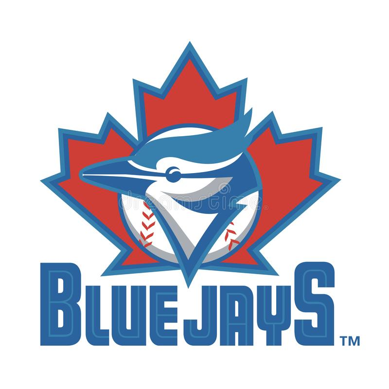 Editorial - Toronto Blue Jays de MLB ilustração stock