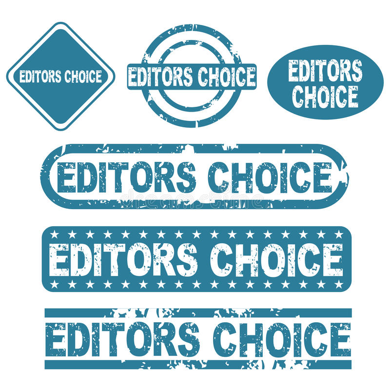 Download Editors choice stamps stock vector. Image of authorization - 19839052