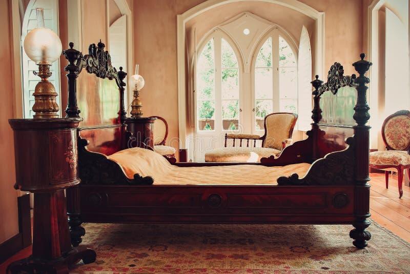 Edla Countess chale interior royalty free stock photo