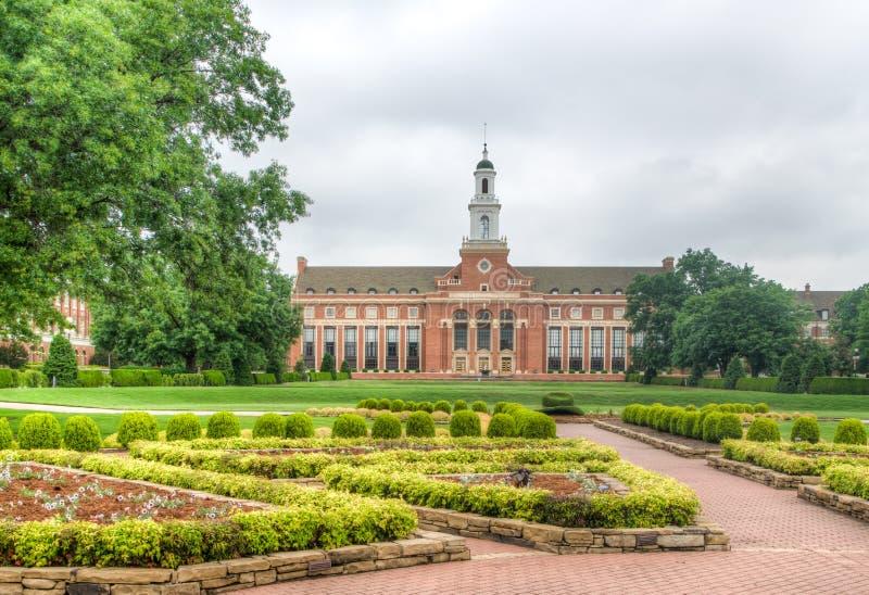 Edmon Low Library à l'université de l'Etat de l'Oklahoma photographie stock