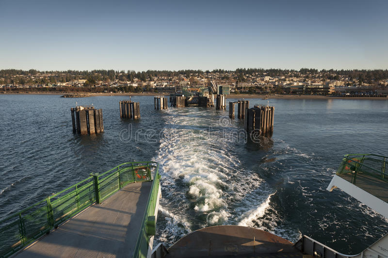Edmonds, Washington Ferry Dock royalty free stock photography
