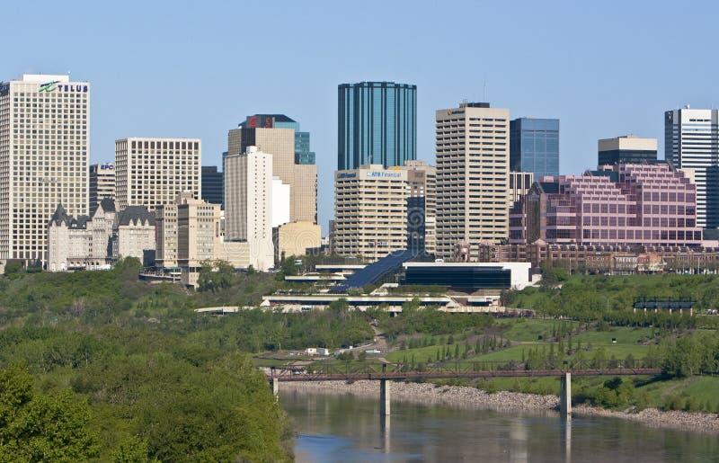 Edmonton śródmieście zdjęcie royalty free