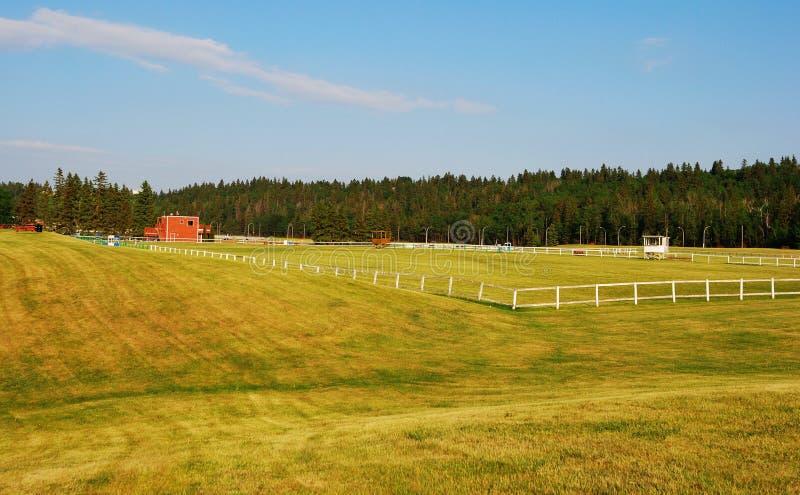 Download Edmonton equine center stock image. Image of field, land - 5025825