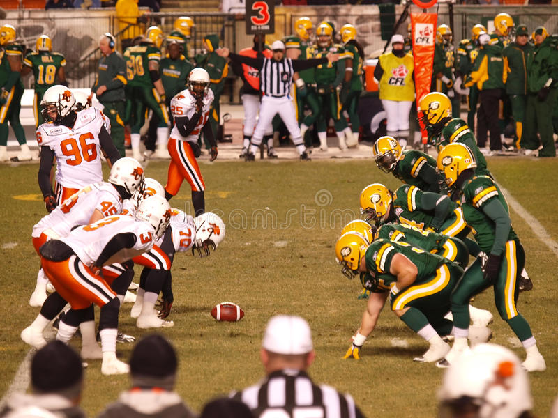 Download Edmonton Eskimos Vs. B.C. Lions 1 Editorial Stock Photo - Image of american, stadium: 11288473