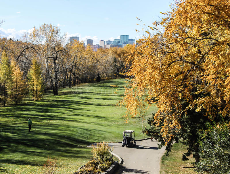 Edmonton nel Canada fotografia stock