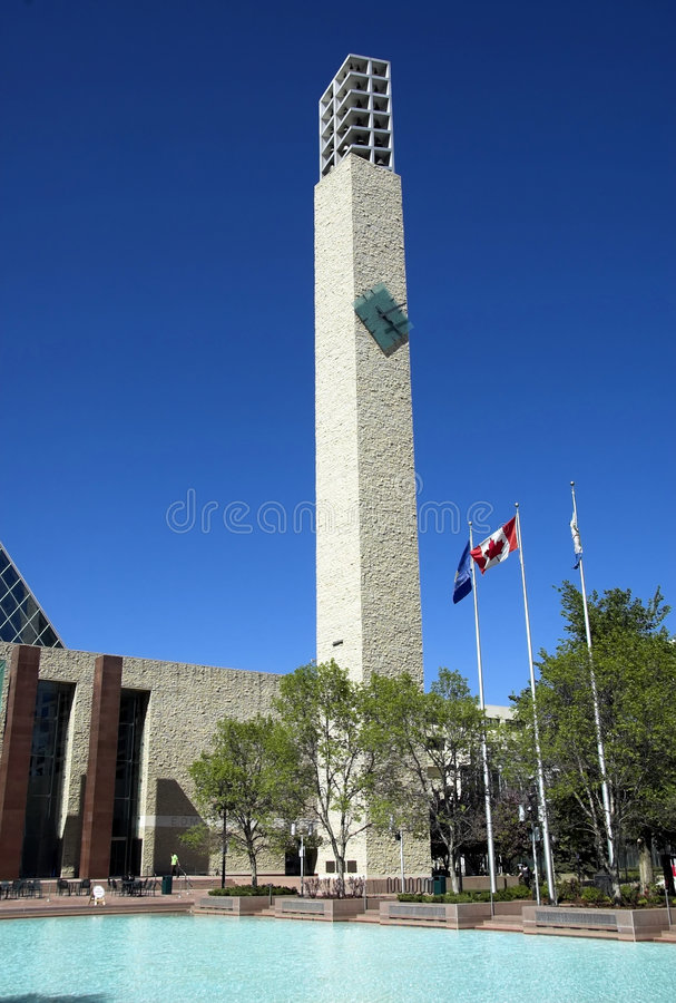 Edmonton's City Hall royalty free stock images