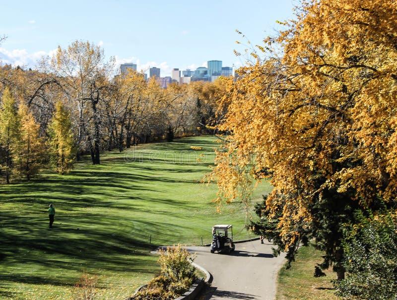 Edmonton w Kanada zdjęcie stock