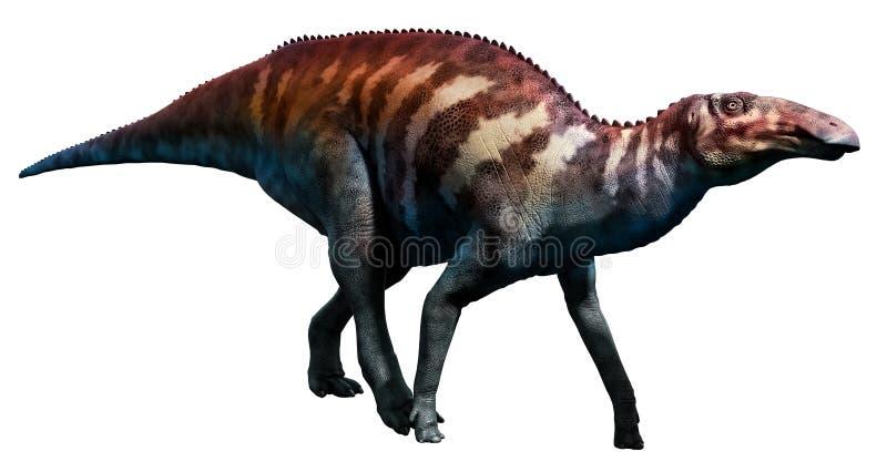 Edmontosaurus illustration de vecteur