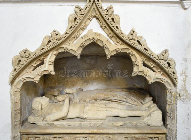 Edmund Blanker Tomb St Stephens Church arkivbild