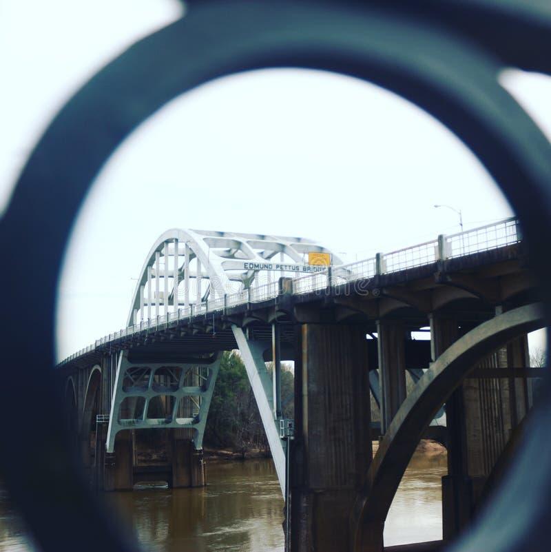 Edmund Pettus Bridge stock foto