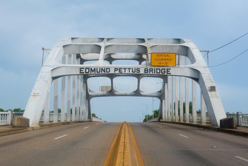 Edmund Pettus Bridge royalty-vrije stock foto's