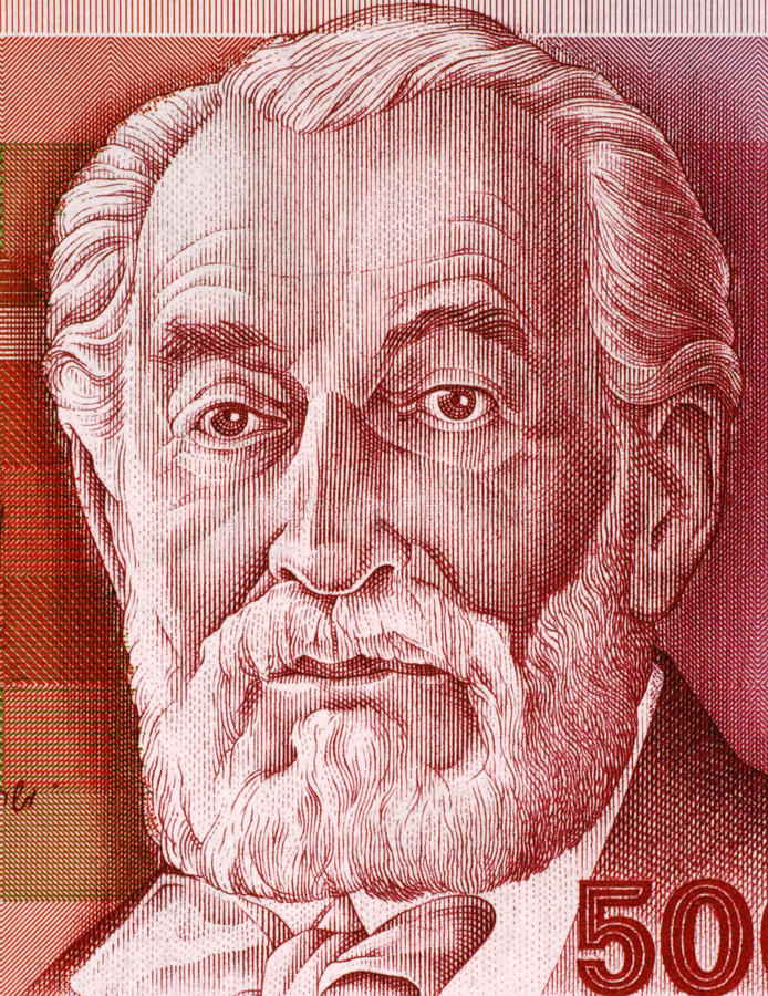 Edmundo James de Rothschild imagenes de archivo
