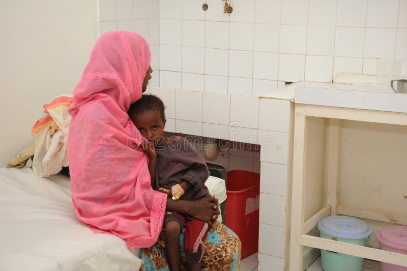 Edna Adan University Hospital is gesitueerd in Hargeisa, Republiek van Somaliland stock foto's