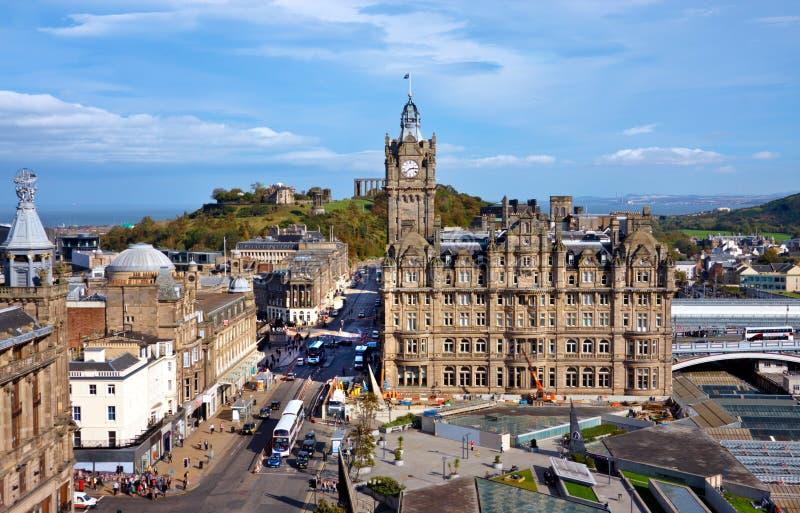 Ednburgh Escócia imagens de stock