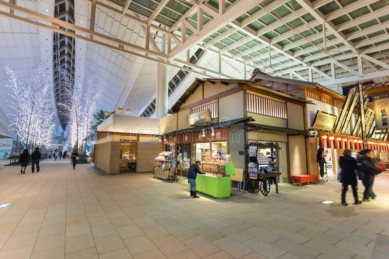 Edo Market Place in Haneda Luchthaven royalty-vrije stock fotografie