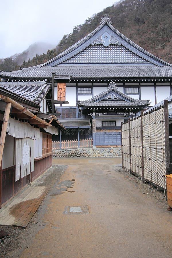 Edo Wonderland, Japan stockbilder