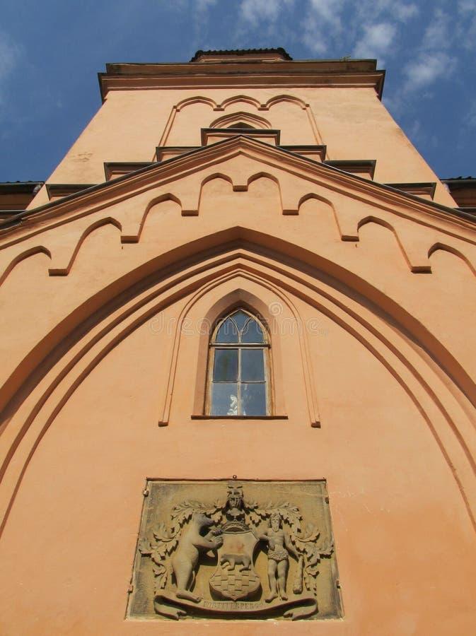Edole Castle. Latvia royalty free stock photography