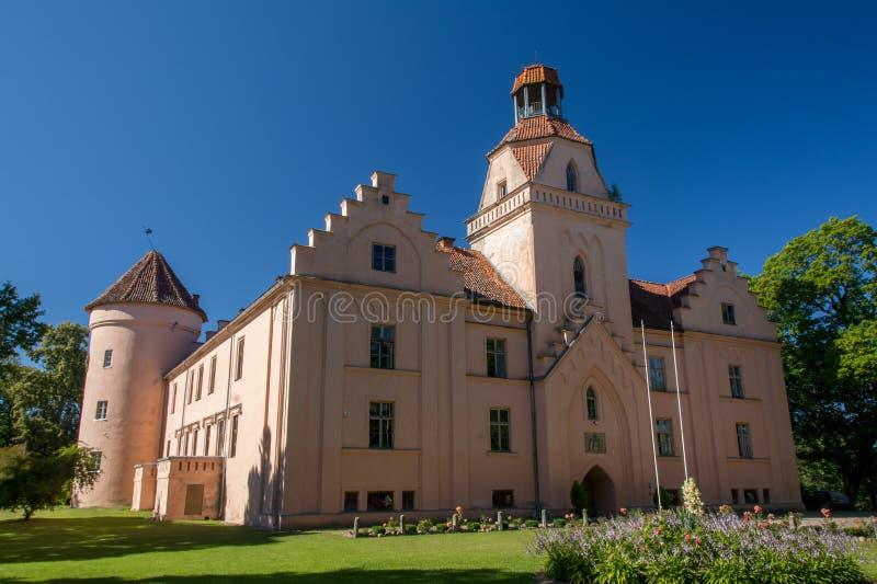 Edole slott arkivfoto